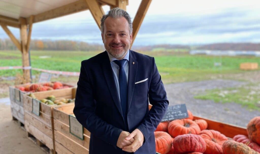 Charles Locquet, président du Syndicat Mixte Oise Très Haut Débit et conseiller départemental