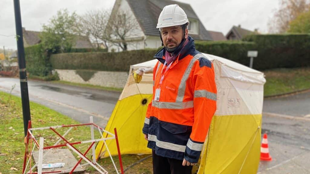 Loïc Dupont, le directeur du projet Oise THD pour Axione